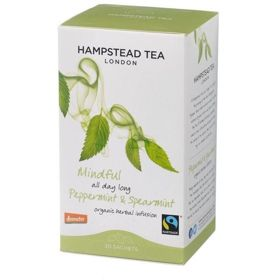 Hampstead | Peppermint  - herbata miętowa (saszetki) 30g | ORGANIC - FAIRTRADE