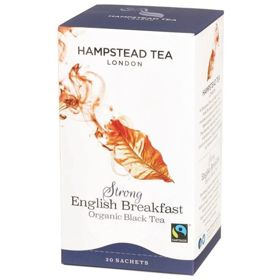Hampstead | Strong English Breakfast - herbata czarna (saszetki) 50g | ORGANIC
