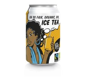 Oxfam | Ice Tea 330ml | ORGANIC - FAIRTRADE
