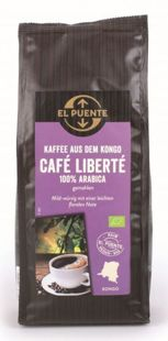 El Puente | Cafe Liberte Kongo (kawa ziarnista) 250g | FAIR TRADE