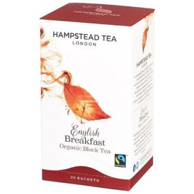 Hampstead | English Breakfast - herbata czarna (saszetki) 40g | ORGANIC - FAIRTRADE